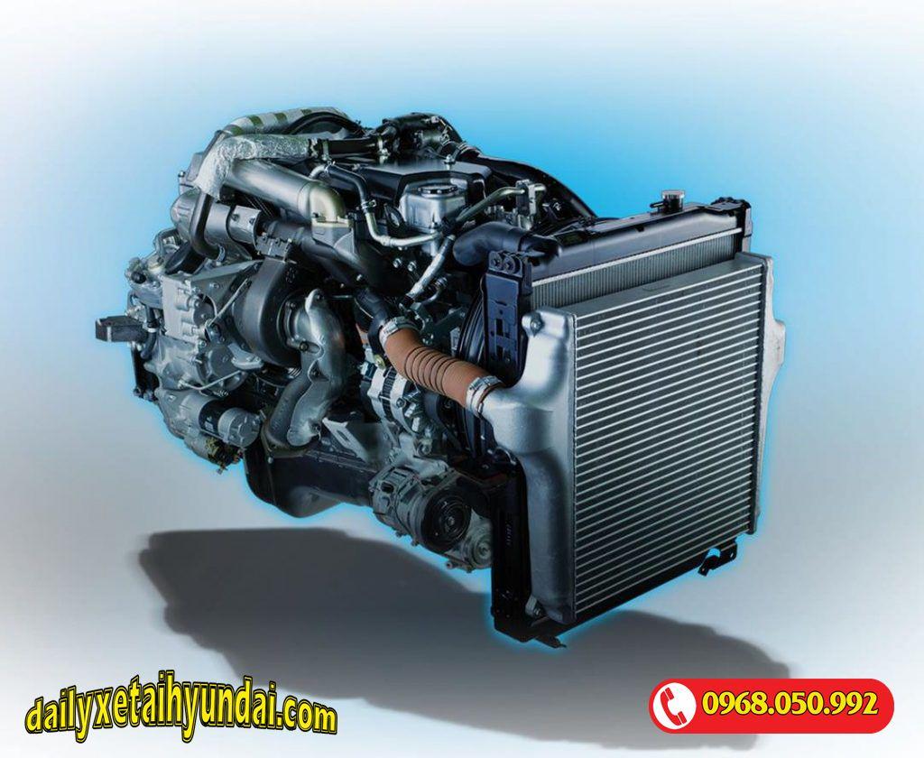 Động cơ Xe tải Isuzu 2t4 Qkr77he4
