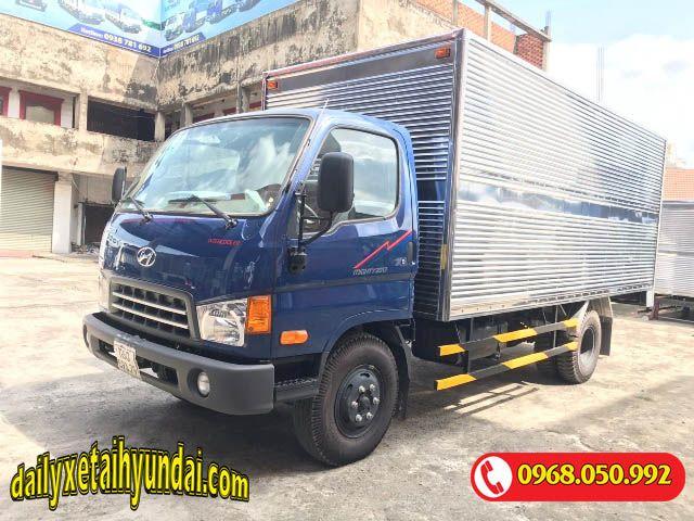 Xe tải Hyundai Mighty 2017 thùng kín