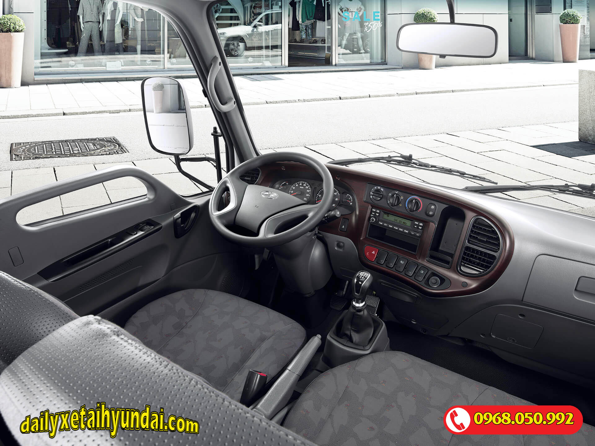 Nội thất Hyundai N250