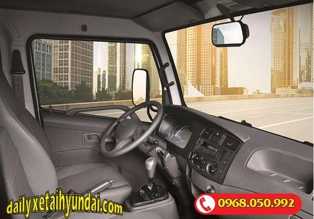 Nội thất xe tải tera 250