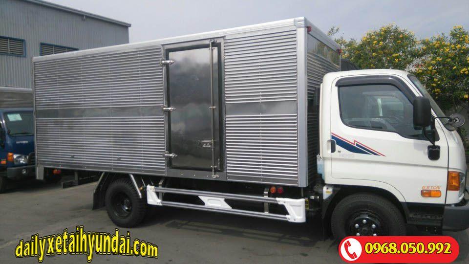 Xe tải Hyundai HD99 thùng kín