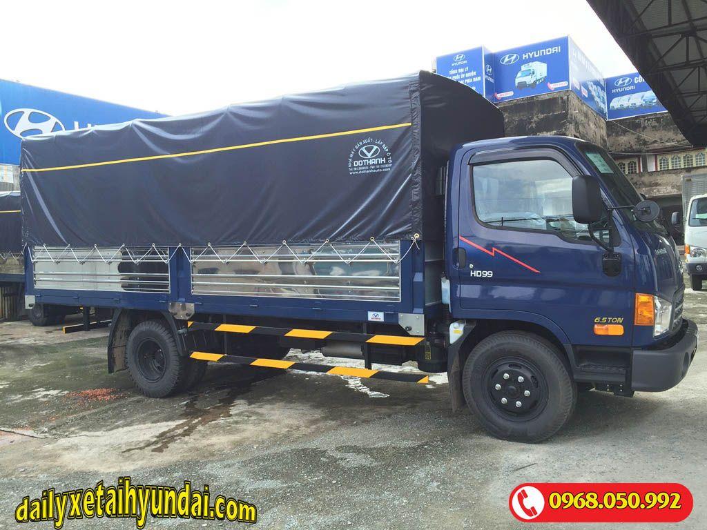 Xe tải Hyundai HD99 thùng mui bạt