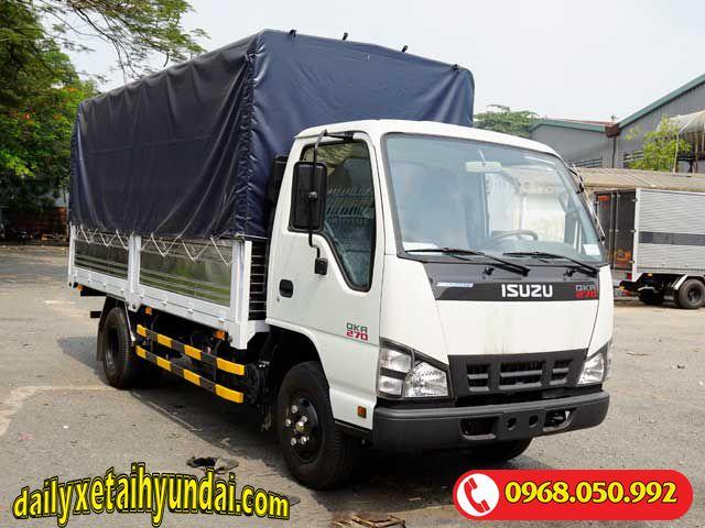 Xe tải Isuzu 2t4 mui bạt