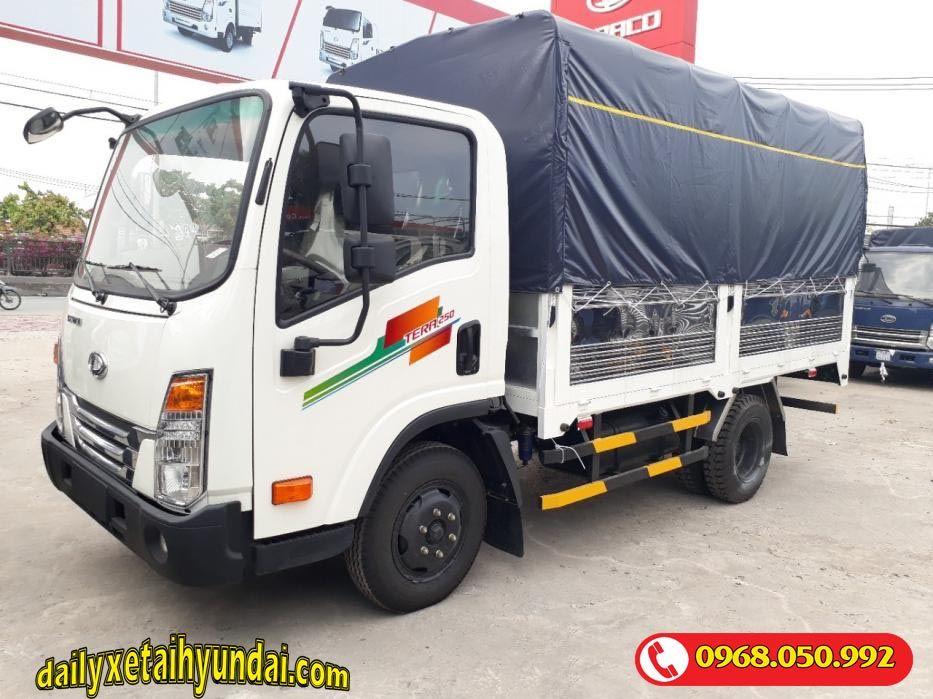 Xe tải tera 250 mui bạt