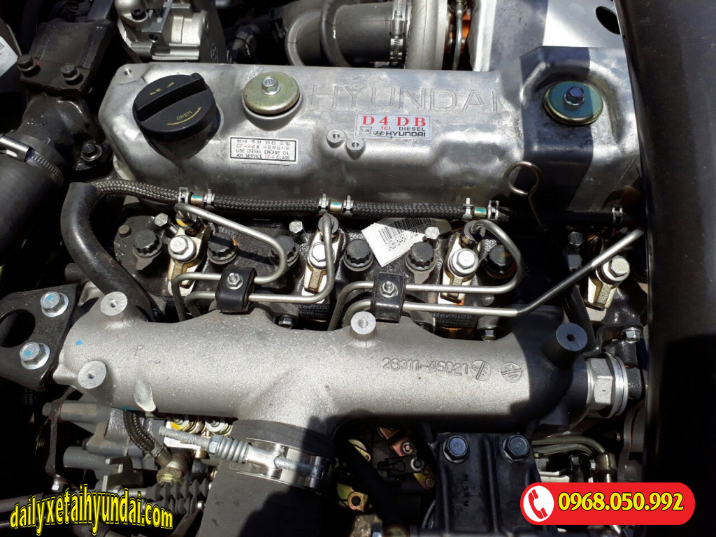 Động cơ xe ben hd99