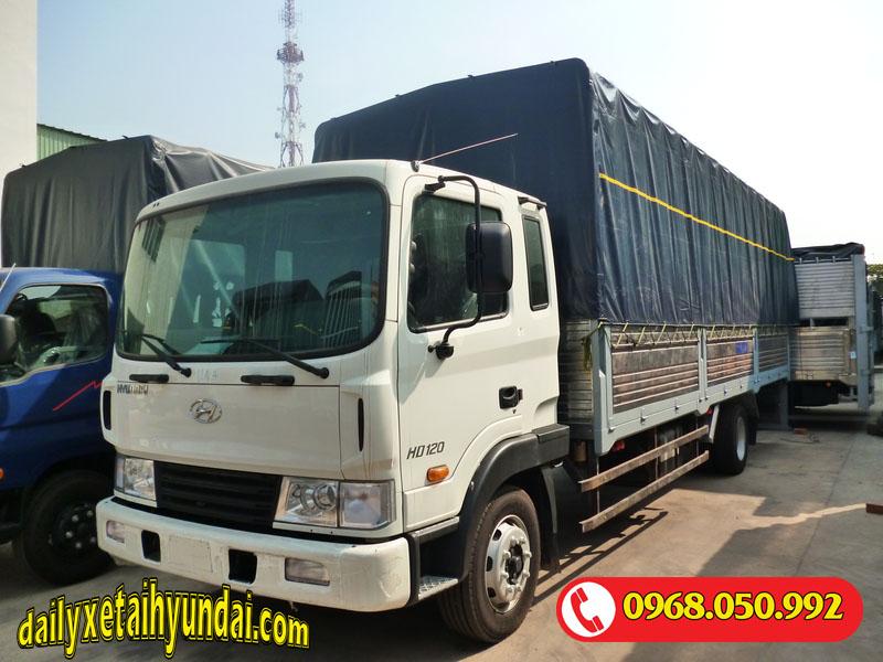 Giá xe tải Hyundai chở nặng