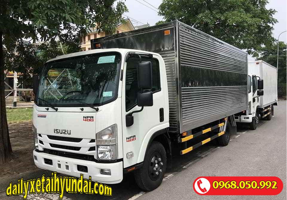 Giá xe tải Isuzu 3.5 tấn thùng kín