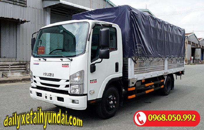 Giá xe tải Isuzu 3.5 tấn thùng bạt