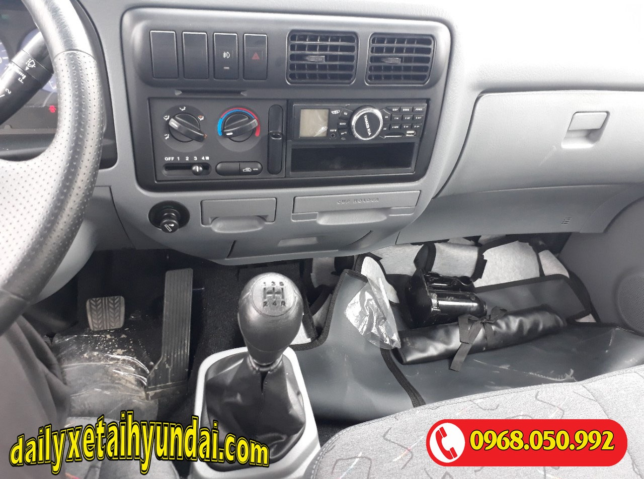 Nội thất xe tải Kia