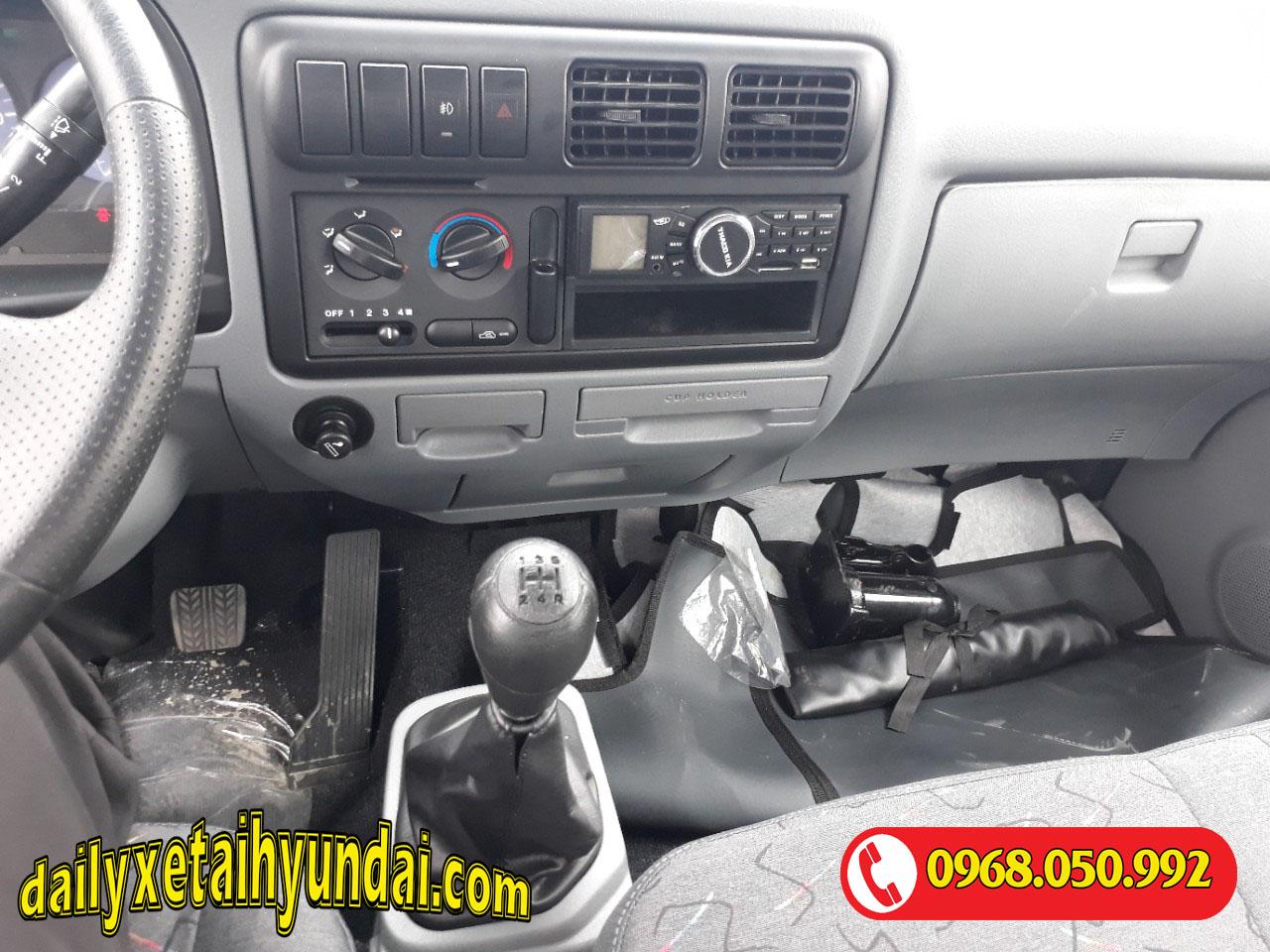 Nội thất xe Thaco