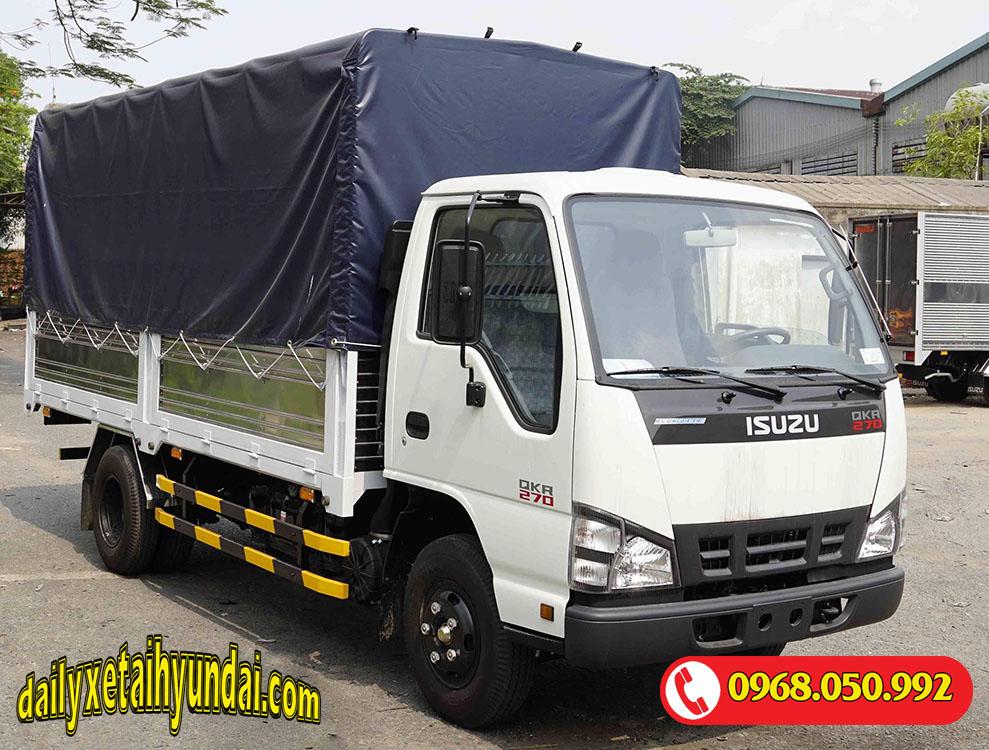 Xe tải Isuzu 1 tấn thùng mui bạt