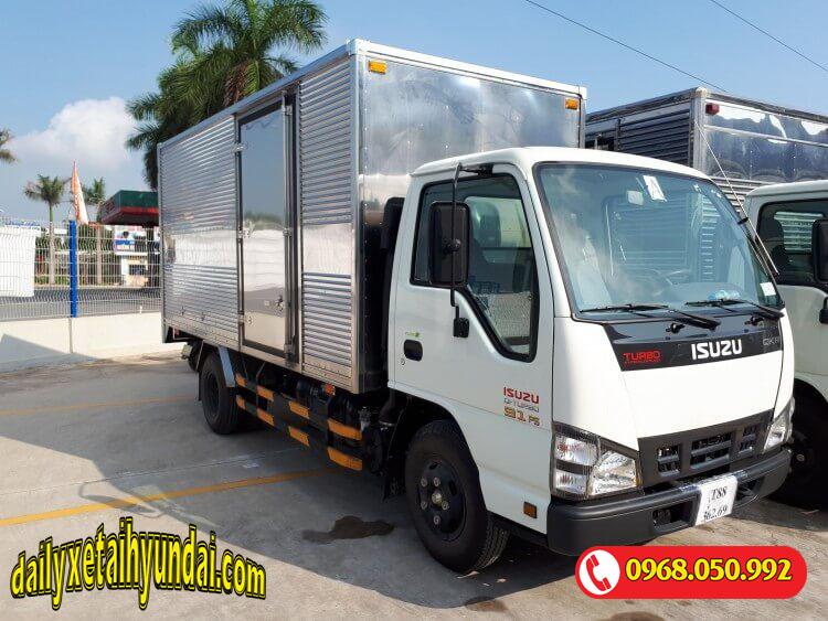 Xe tải Isuzu 1 tấn thùng kín