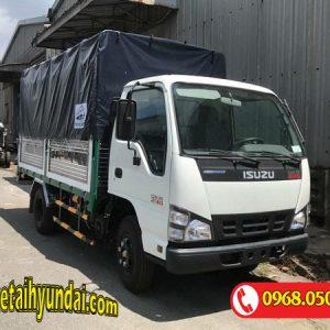 Xe tải Isuzu 1.5 tấn thùng bạt