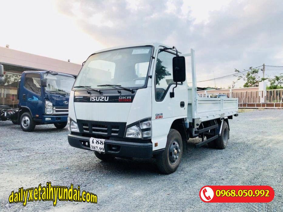 Xe tải Isuzu 1.5 tấn thùng lửng