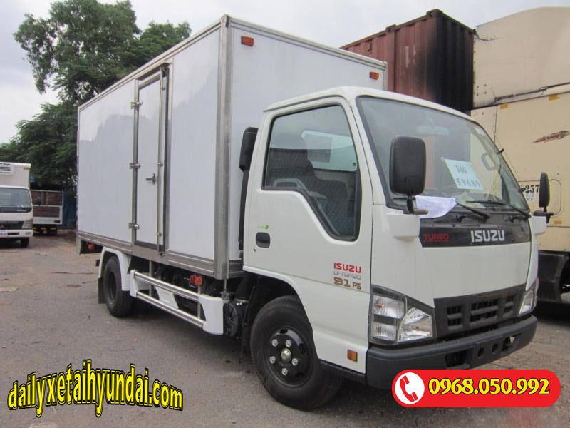 Xe tải Isuzu 2t2 thùng kín