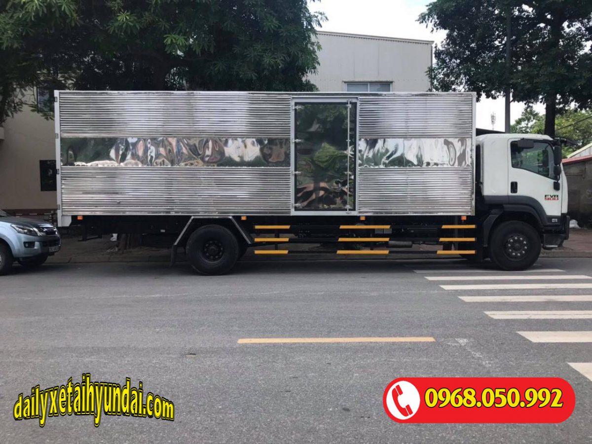Xe tải Isuzu 8 tấn thùng kín