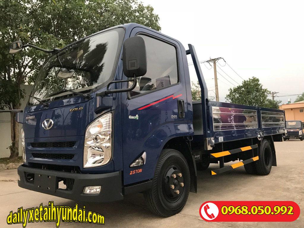 Xe tải Iz65 Gold thùng lửng