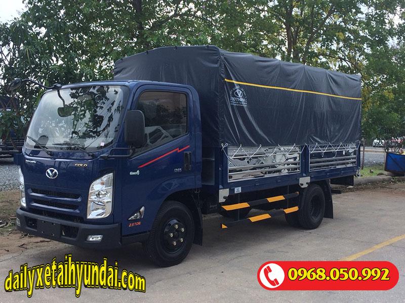 Xe tải Iz65 Gold thùng bạt