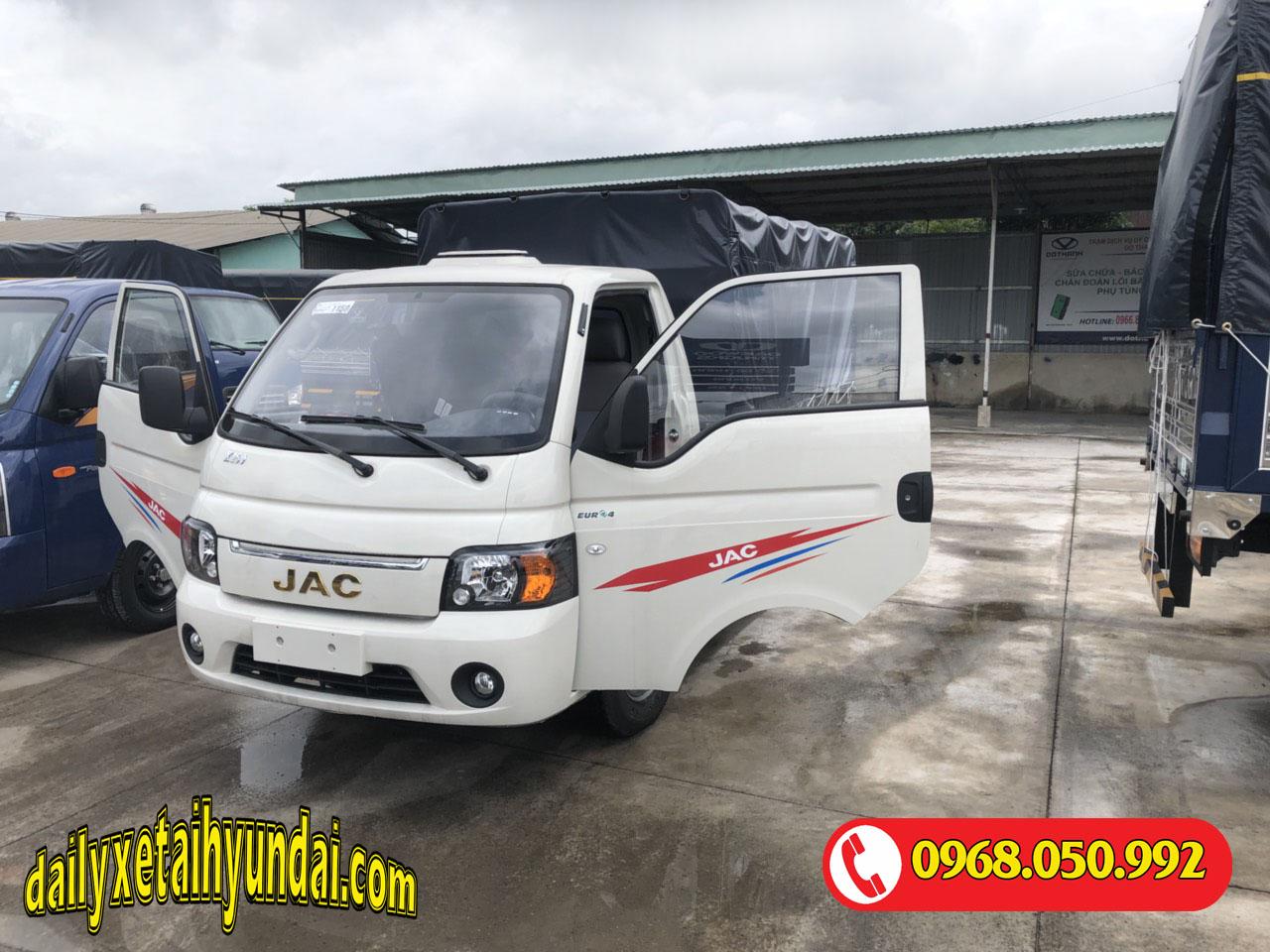 Ngoại hình xe tải Jac x150
