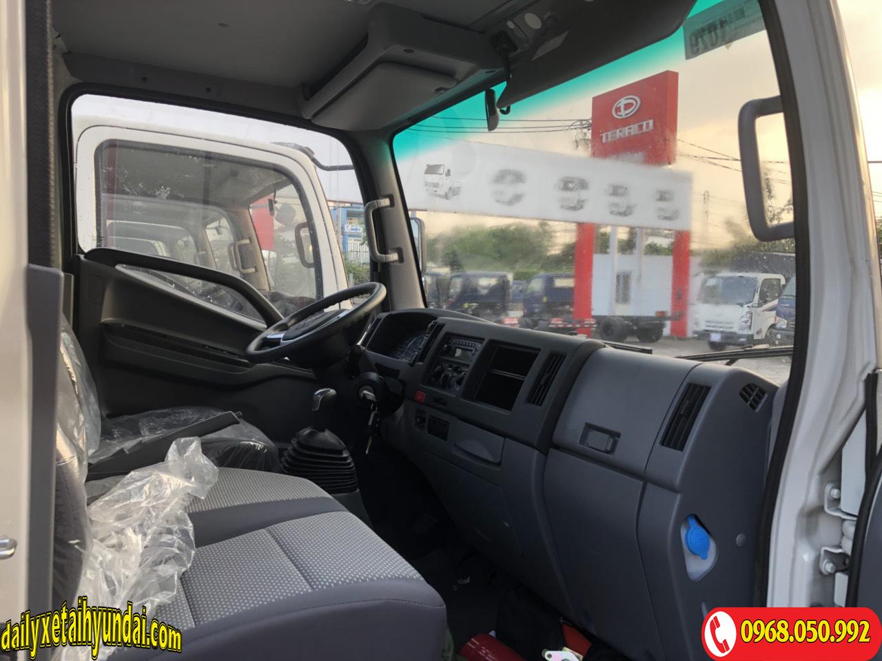 Nội thất xe tải JAC 3t5